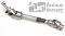MANUAL STEERING SHAFT 79-93 MUSTANG (COLLAPSIBLE)