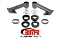 BMR Suspension 2015-2017 Cradle Bushing Lockout Kit