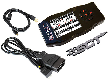SCT  X4 FLASH TUNER FOR FORD VEHICLES